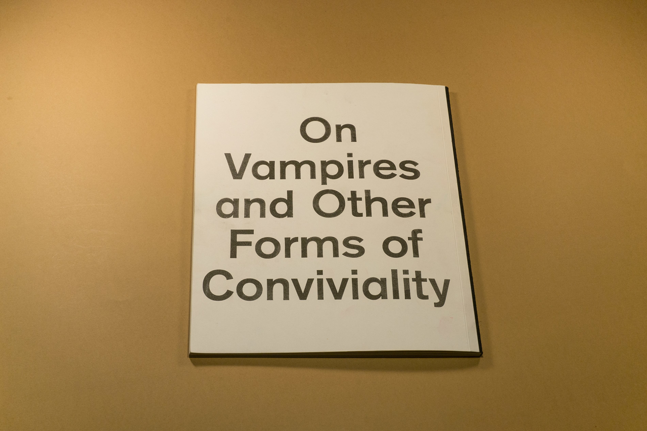 "Friends Make Books DIS DIS DIS ""On Vampires and Other Forms of Conviviality"""
