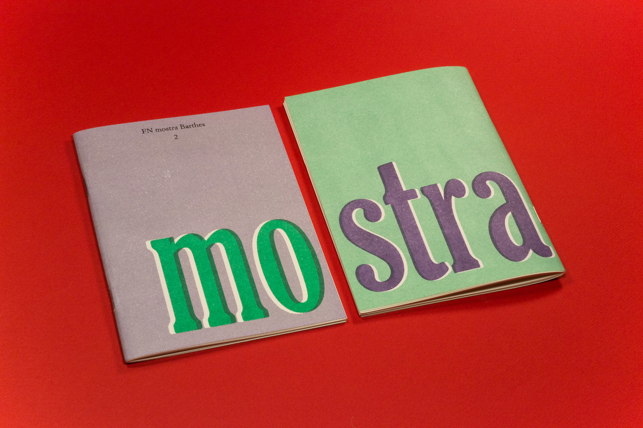Friends Make Books FN mostra Barthes