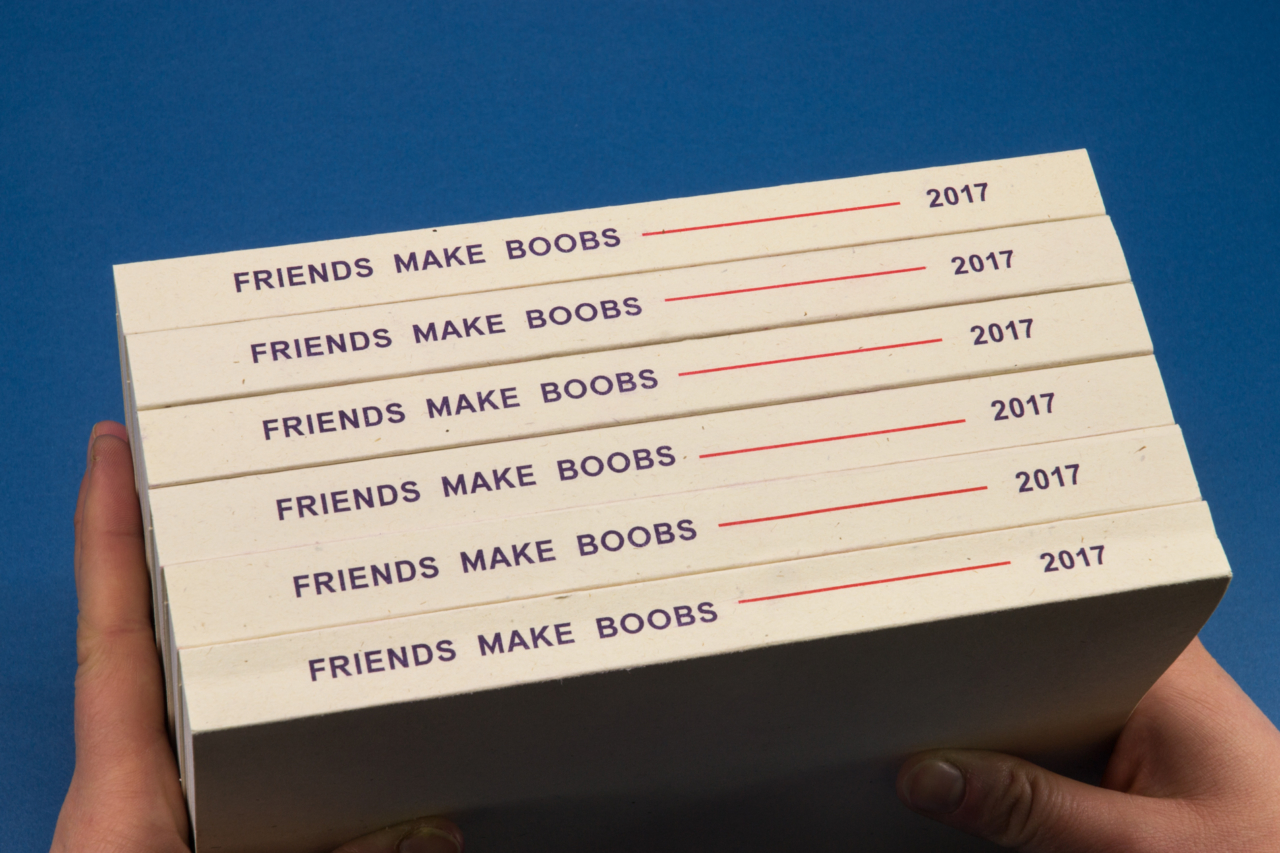 Friends Make Books Friends Make Boobs